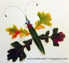 Fun leaf art
