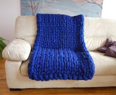Hey, I found this really awesome Etsy listing at https://www.etsy.com/listing/485480523/sale-chunky-knit-blanket-100-wool-wool