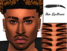 XxBlacksims Eyebrows