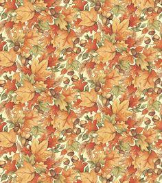 Autumn Inspirations Susan Winget Leaf Acorn Toss 2 Fabric http://www.joann.com/autumn-inspirations-susan-winget-leaf-acorn-toss-2-fabric/11680709.html Item # 11680709 $10.99 $7.69 30% off Autumn Inspirations Harvest Fabrics