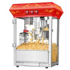 Best Kitchen Cart | Great Northern Popcorn Red Good Time Popcorn Popper Machine 8 Ounce -- Check this awesome product by going to the link at the image. Note:It is Affiliate Link to Amazon.