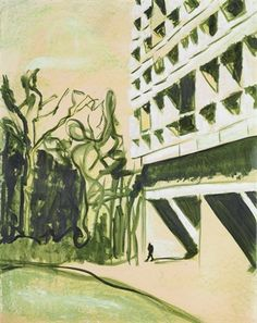 View Unité by Peter Doig on artnet. Browse upcoming and past auction lots by Peter Doig. Peter Doig, Urban Landscape, Landscape Art, Landscape Paintings, Landscapes, What Is Contemporary Art, Contemporary Paintings, Pop Art, Sketch Inspiration