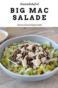 Low Carb Recipes, Cooking Recipes, Healthy Recipes, Big Mac Salad, Food For Thought, Summer Recipes, Food Photography, Good Food, Food And Drink