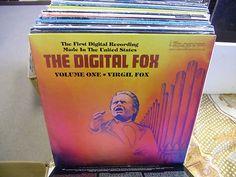 Virgil Fox Digital Volume One vinyl LP 1981 Ultragroove Records EX Rare Vinyl Records, Lp, Digital, Ebay