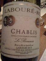 Laboure-Roi Chablis le Beaunois