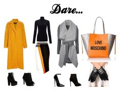 """Dare to be daring!"" by izziehal on Polyvore featuring River Island, Jigsaw, Tabitha Simmons, Gianvito Rossi, Jane Norman, Rochas and Love Moschino"