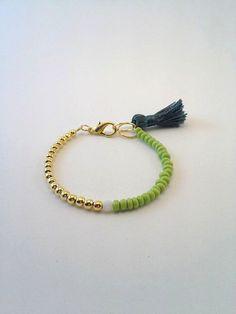 Lovely Mixedmedia Handmade Bracelet by TresJoliePT on Etsy, €7.00