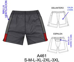 moldes de jeans para hombre - Buscar con Google Paper Clothes, Diy Clothes, Ropa Interior Boxers, Underwear Pattern, Sewing Pants, Fashion Vocabulary, Stretch Shorts, Jacket Pattern, Sport Pants