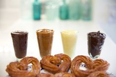 Edible Obsession: Homemade Churros and Dipping Sauces