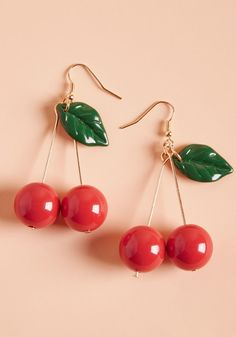 Jewelry OFF! Hug earring Unique jewelry Cute earrings Cute jewelry Cherry earrings Beaded earrings - Stop asking What do I want for my birthday and start adding these things to your birthday wish list inst - Cute Earrings, Unique Earrings, Beaded Earrings, Statement Earrings, Hoop Earrings, Beaded Jewelry, Quilling Earrings, Stud Earring, Earrings Handmade
