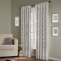 Madison Park 'Ella' 84-inch Curtain Panel | Overstock.com
