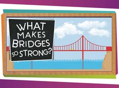 A SciShow Kids viewer wrote us to ask how bridges are strong enough to carry cars and trucks! Jessi and Squeaks can explain -- with blocks!