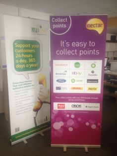More Ecotek roller banners going out today!  From only £38.75 with direct print graphic and bag is easy to see why!