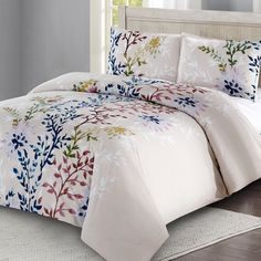 Bedding Like Restoration Hardware Beach Bedding Sets, Coastal Bedding, Comforter Sets, Luxury Bedding, King Duvet Cover Sets, Duvet Covers, Dahlia, Floral Bedspread, Embroidered Bedding
