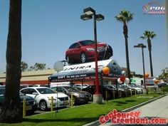 Giant Inflatable Nissan Sentra