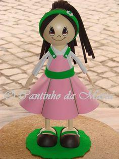 O Cantinho da Marta: Boneca EVA - Inês