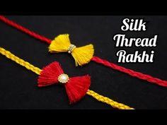 Art N Craft, Craft Stick Crafts, Ant Crafts, Handmade Rakhi Designs, Silk Thread Bangles Design, Rakhi Making, Easy Art For Kids, Rakhi Gifts, Paper Flowers Craft