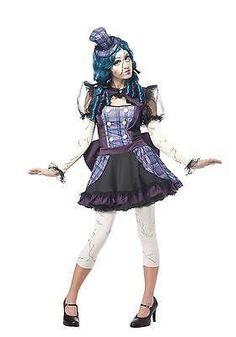Plus Size Broken Doll Costume