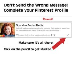 Pinterest – Is Your Business Profile Sending The Right Message? | Alisa Meredith | Scalable Social Media