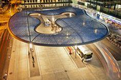 Bus terminal and train station square, Aarau - vehovar & jauslin architektur