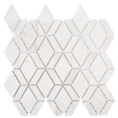 Jeff Lewis Crescent Gray in. x 11 in. x 8 mm Geometric Honed Limestone Wall and Floor Mosaic - The Home Depot Marble Wall, Marble Mosaic, Mosaic Wall, Stone Mosaic, Mosaic Tiles, Mosaic Glass, Cement Tiles, Carrara Marble, Mosaics