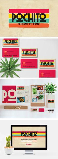 Pochito branding by Smack Bang Designs #Branding #Stationary #Website #GraphicDesign #SmackBangDesigns