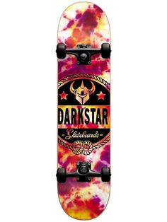 Darkstar General Tie Dye 7.875 First Push Complete Skateboard