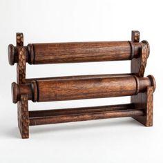 Dark Wood Bracelet & Watch Stand