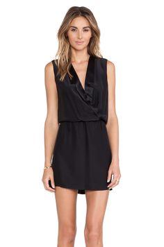 Amanda Uprichard Notch Collar Dress
