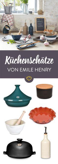 Die hübschen Keramik-Schätze von Emile Henry sind schon länger auf unserer Wunschliste. Und jetzt gibt's mit dem Gutschein-Code EMILE15 auch noch 15 % Rabatt! (gültig bis zum 10.09.2016 )