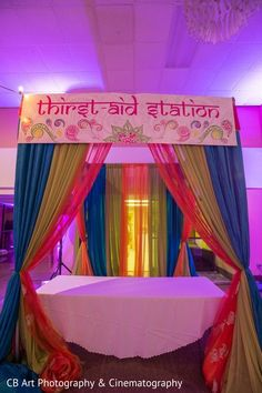 Drinks station http://www.maharaniweddings.com/gallery/photo/86405