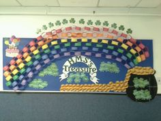 St. patricks day bulletin board 2013