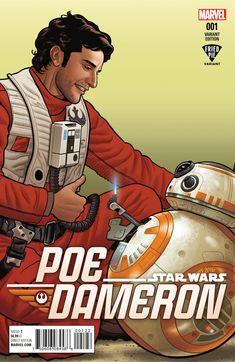 friedpiecomics:  Poe Dameron#1 Publisher: MarvelRelease Date: 4/6/16Cover Artist: Joe Quinones Available at Fried Pie Comic Shops   ::::::::thumbsup::::::::