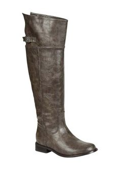 Look at this Breckelle's Taupe Rider Over-the-Knee Boot on today! Thigh High Boots, Over The Knee Boots, Tall Boots, Shoe Boots, Grey Boots, Women's Shoes, Cute Shoes, Me Too Shoes, Rider Boots