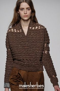 maison-malesherbes:  [ Fashion ]Damir DomaAW2014 PFW Please follow us on our FACKBOOK page, if you interested and also to know more about us and crochet, knitting, arts, fashion, movies and more… https://www.facebook.com/maisonmalesherbes/