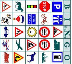 gratispuzzelen.nl Bingo kaartjes Frankrijk