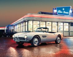 BMW 507 Elvis Campaign
