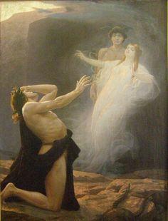 Eduard Kasparides - Orphée et Eurydice, 1896 (