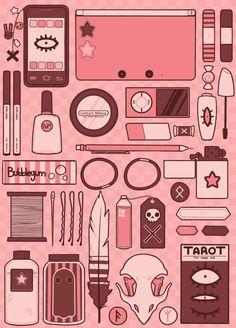 livebythemelody▲ — kada-bura: Little purse essentials ★