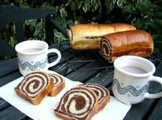 Hungarian Desserts, Hungarian Recipes, Hungarian Food, Bread Recipes, Cooking Recipes, Ring Cake, Bread And Pastries, Breakfast For Dinner, Croissant