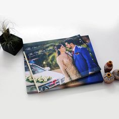 Handcrafted to perfection, this perfect for all occasions album comes with a scratch less printed hard bound cover (cover page is designed out of your pictures and printed on this) and a customised (carrying the same design as album cover) MDF(multi-density fiber) box with velvet lining inside
