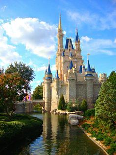 I want to visit Disney World whenever I can in my life. It's one of the places I will make sure not to die before I visit.