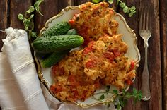 kotelty z kurczaka Cauliflower, Healthy Lifestyle, Food And Drink, Chicken, Dinner, Vegetables, Cooking, Places, Diet