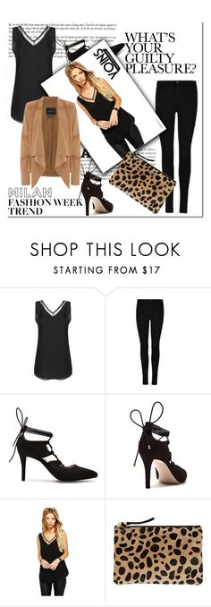 """""""Yoins 1"""" by mini-kitty ❤ liked on Polyvore featuring Clare V. and Oui"""