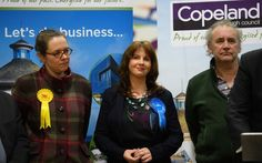 Tories in notable by-decision Copeland win as Labor holds Stoke