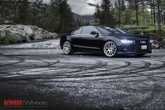 Brilliant Black Audi on Hyper Silver by VMR Wheels Audi A5 Coupe, Black Audi, 20 Wheels, Audi S6, Aftermarket Wheels, Model Pictures, Classic Cars, Bmw, Gallery