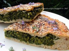 Cum Gaudio Magno: Pizza di verdura, con i semi che non si staccano... per un'idea di ricetta!