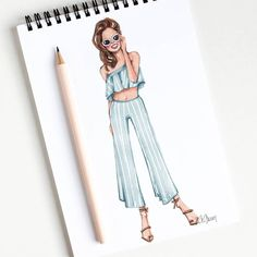 zeichnen Style of Brush by Gizem Kazancigil gizem kazancigil (Gizem Kazancıgil) Fashion Drawing Dresses, Fashion Illustration Dresses, Dress Drawing, Drawing Clothes, Fashion Design Drawings, Fashion Sketches, Illustration Mode, Illustrations, Dress Sketches