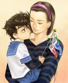 Josuke and his mother