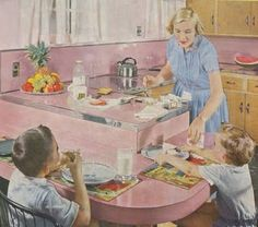 Image detail for -until i create the perfect 1950 s kitchen take a gander at these from ...
